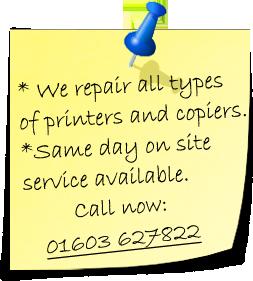 Printer Repair Norwich