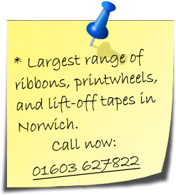 Typewriter Ribbons Norwich