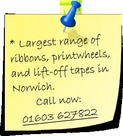 Typewriter Ribbons Norwich